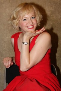 Kitty channels Marilyn at the Has Reading Got Talent? 2014 auditions. Photo by Andy Maunder.